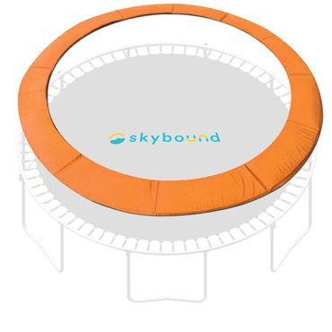 "14 Foot Orange Replacement Trampoline Pad (Fits up to 7"" Springs)"