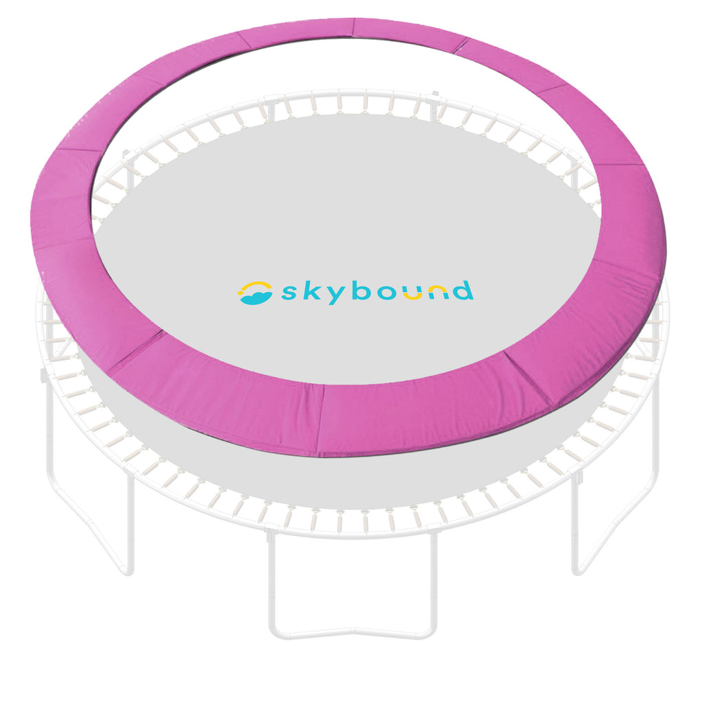 "15 Foot Pink Replacement Trampoline Pad (Fits up to 8"" Springs)"