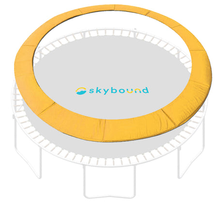 "15 Foot Yellow Replacement Trampoline Pad (Fits up to 8"" Springs)"