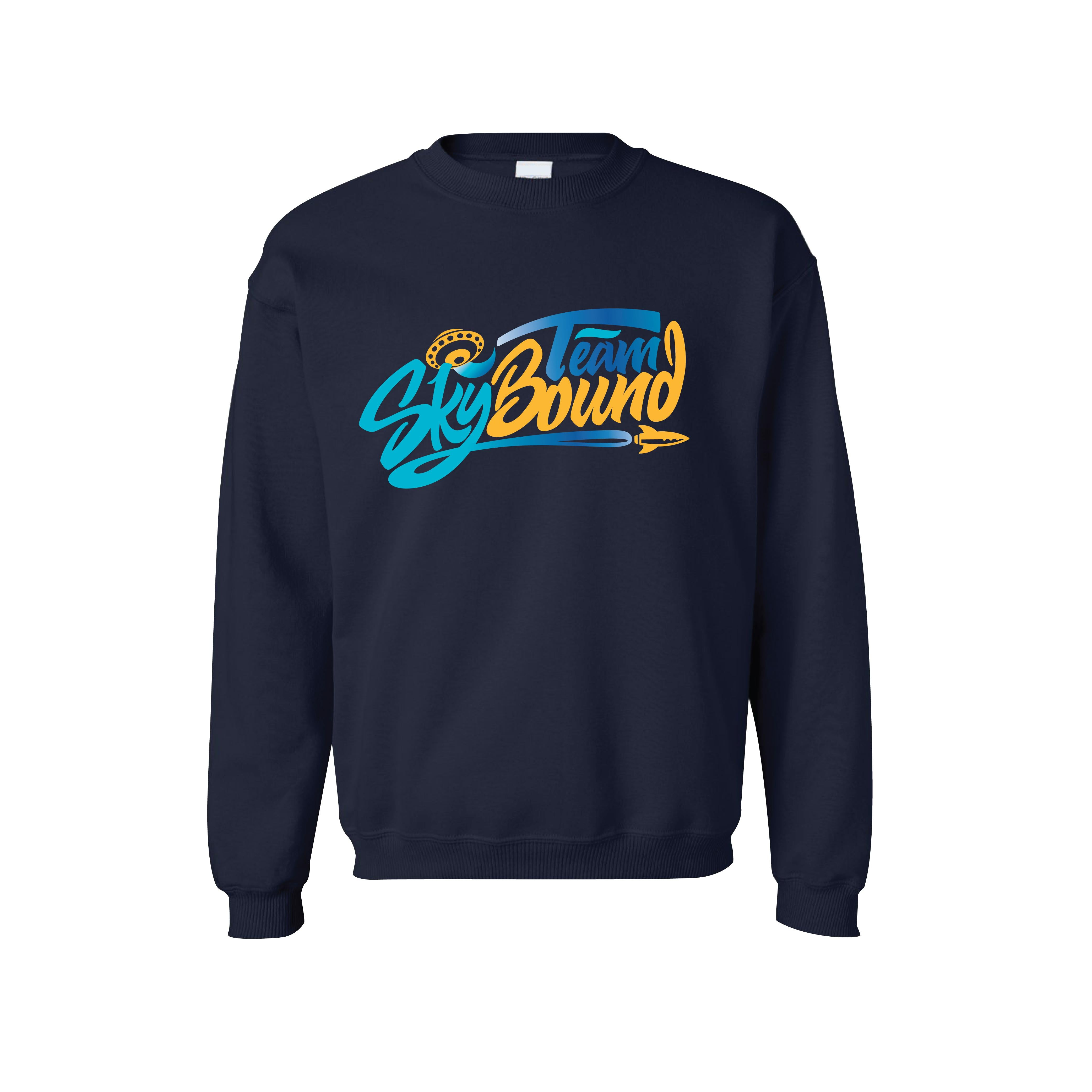 Team SkyBound Navy Blue Crewneck Sweatshirt