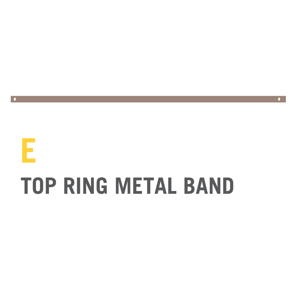 Metal Top Ring Band for 14ft Stratos (Single Piece)