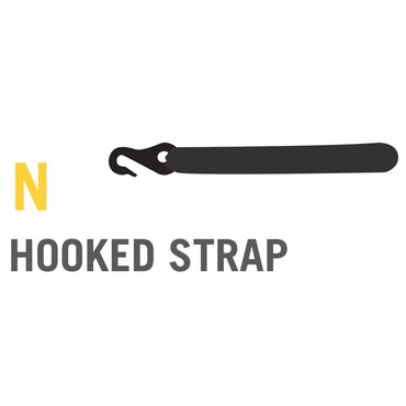 Hooked Pad Strap for Stratos, Cirrus and Atmos Trampolines (Part N)