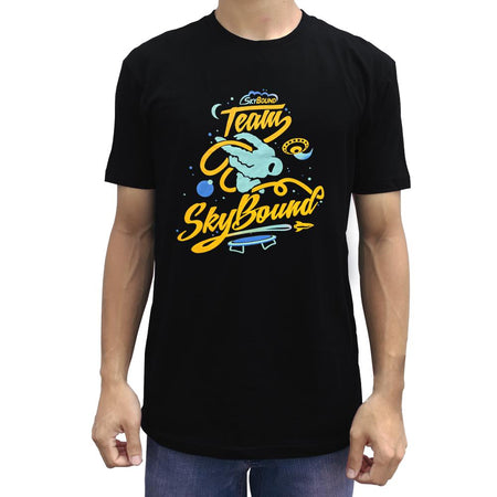 Team SkyBound Astronaut T-Shirt - Black - SkyBound USA