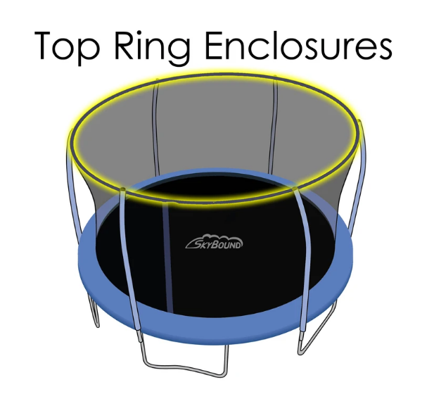 Top Ring Set for 12 foot Stratos Trampoline