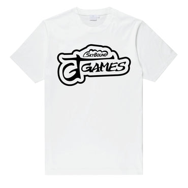 GT Games Logo T-Shirt - White - SkyBound USA