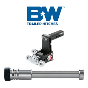 "B&W Hitches - 2"" & 2-1/2"" Tow & Stow"