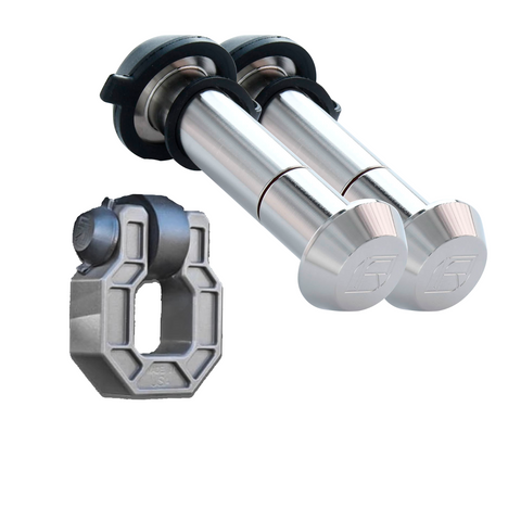 61562 | 2 Pk, Kyd Alike, Tapered Stainless Steel Lk Pins (Fits: Royal Hooks Shackles & Show Hooks)
