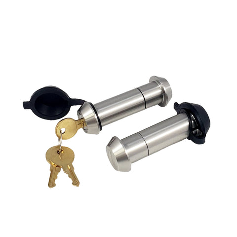 "61566 | 2 Pk, Kyd Alike, Tapered Stainless Steel Locking Pin (Fits: Blue Ox Towing Products - 7/8"" Off Road Adapters)"
