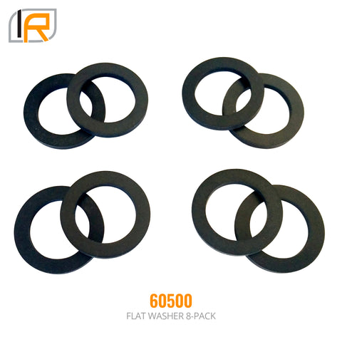 "60500 | 8 Pack, D-Ring Shackle Washers  (Fits: 3/4"", 7/8"" & 29/32"" Diameter Pin)"