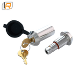 "61056 | Tapered Stainless Steel Non-Threaded Lock Pin (Fits: 3/4"" Threaded D-Ring / Shackle)"