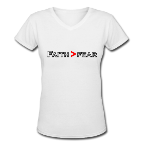 Faith > Fear christian apparel for women
