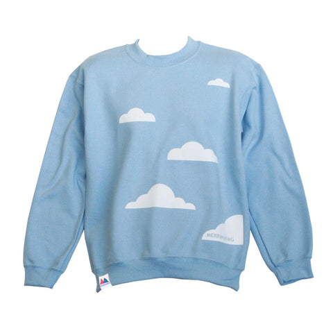 Blue Cloud Sweatshirt