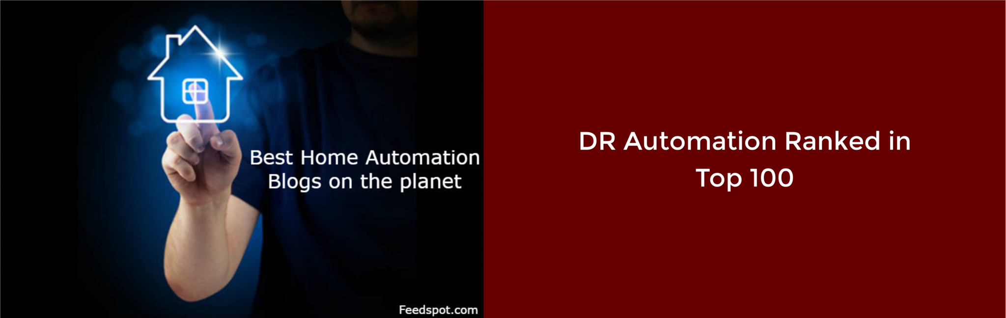 DR Automation Ranked in the Top 100 Home Automation Blogs