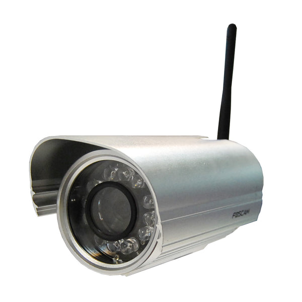 Foscam FI9804W Outdoor Wireless IP Camera - 720P with 20m Night Vision