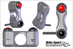 Generic 2 button handlebar switch set, typically Stop/Run (kill) and Start