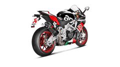 Aprilia RSV4 & RSV4-R APRC 2015-16 Akrapovic Carbon Slip On Can