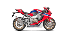 Honda CBR1000RR SP1/SP2 2017> Akrapovic Titanium Silencer Complete Stainless 4-2-1 System Conical Headers