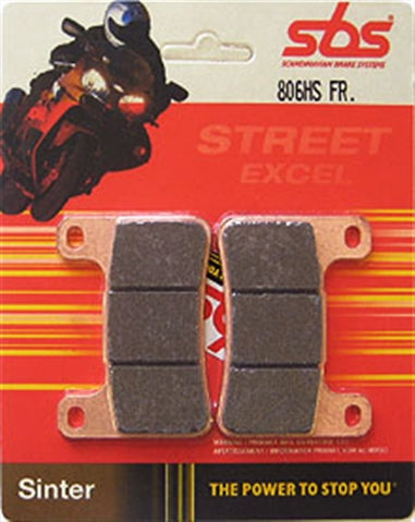 Triumph Street Triple 765RS 2017> SBS Front Brake Pads