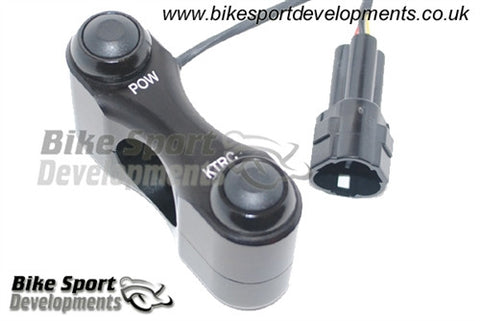 Kawasaki ZX-10R 2011-15 Race/Track Bike Handlebar Switch Assembly - KTRC / POW