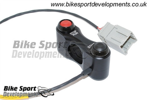 MV Agusta F3 / Brutale, Race/Track Bike Right Side - Stop/Run and Start Handlebar Switch