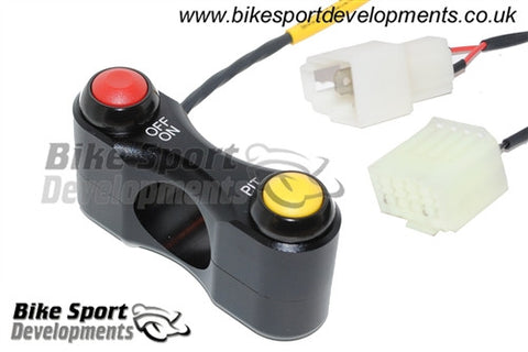 Yamaha YZF600 R6 2008-16, Race/Track Bike Handlebar Switch Assembly - On/Off - Pit for YEC kit