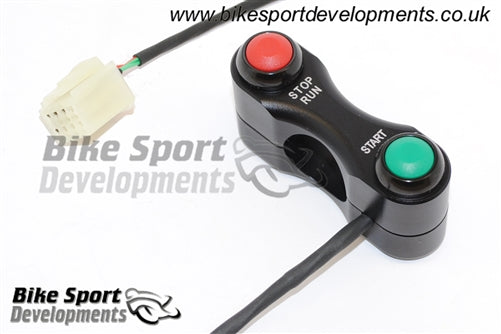 Yamaha R3 2015 - 2018 Race/Track Bike Handlebar Switch Assembly Stop/Run and Start