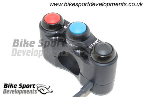 Ducati 1299, 1199R, Superleggera 2015> Bike Sport Developments Handlebar Switch Stop/Run, Start, Lap SET