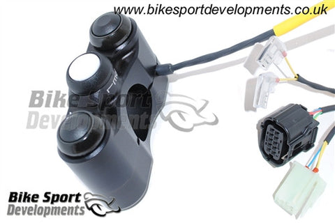 Yamaha YZF-R1/R1M 2015> 3 Way Race Bike Handlebar Switch - Left Side