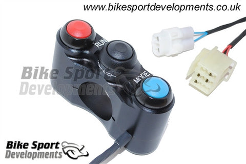 Yamaha YZF R1 2009-14 - 3 Way Start/Run - Stop - Mode Race Bike Handlebar Switch - Right Side