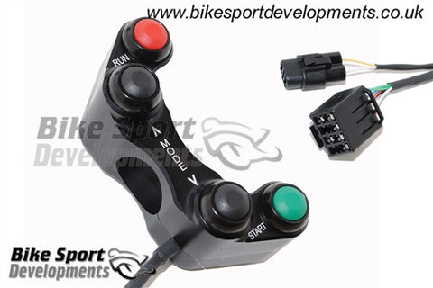Suzuki GSX-R 600,750,1000 Race/Track Bike Handlebar Switch Assembly. 4 Button Right Side