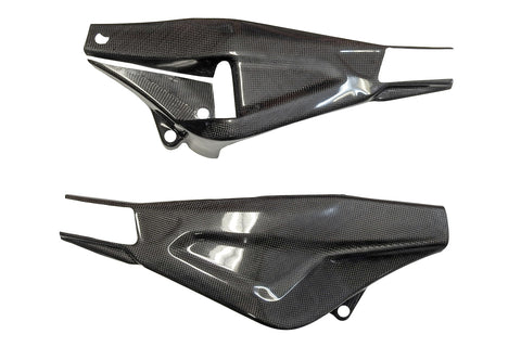 BMW S1000RR 2019> Carbon Fiber Swing Arm Cover Set