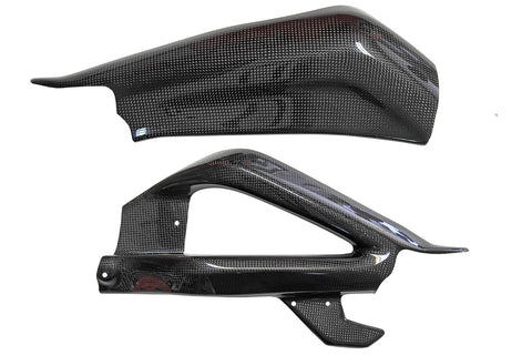 Triumph Daytona 675/R 2013> Carbon Fiber Swingarm Covers