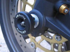 Triumph Daytona 675/R & Street Triple/R 2006-16 GB Racing Front Spindle Protector