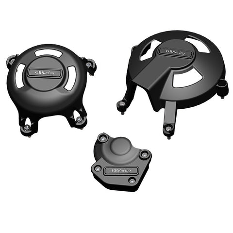 Triumph Daytona 675 2006-10 & Street Triple 2008-10 GB Racing Race Kit Alternator Three Piece Engine Cover Set
