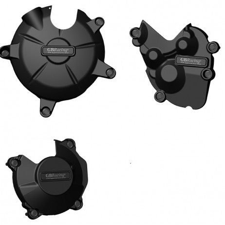 Kawasaki ZX-6R 2009-12 GB Racing Engine Cover Set