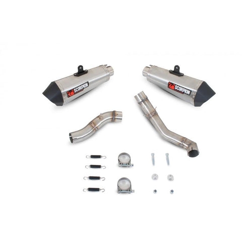 Suzuki GSX-R1000 2009-11 Scorpion Serket Taper Slip-on Exhausts (Pair)