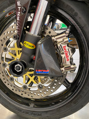 Triumph Daytona & Street Triple, All Models & Years Front Spindle Conversion with Front Axle Pull Cup