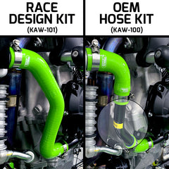 Kawasaki ZX 10R / RR 2021 5 Piece OEM Replacement Samco Sport Silicone Radiator Coolant Hose Kit