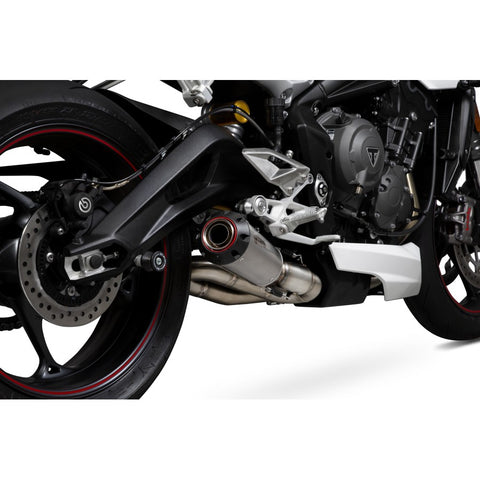 Triumph Street Triple 765/S/R 2017> Scorpion Red Power Slip-On