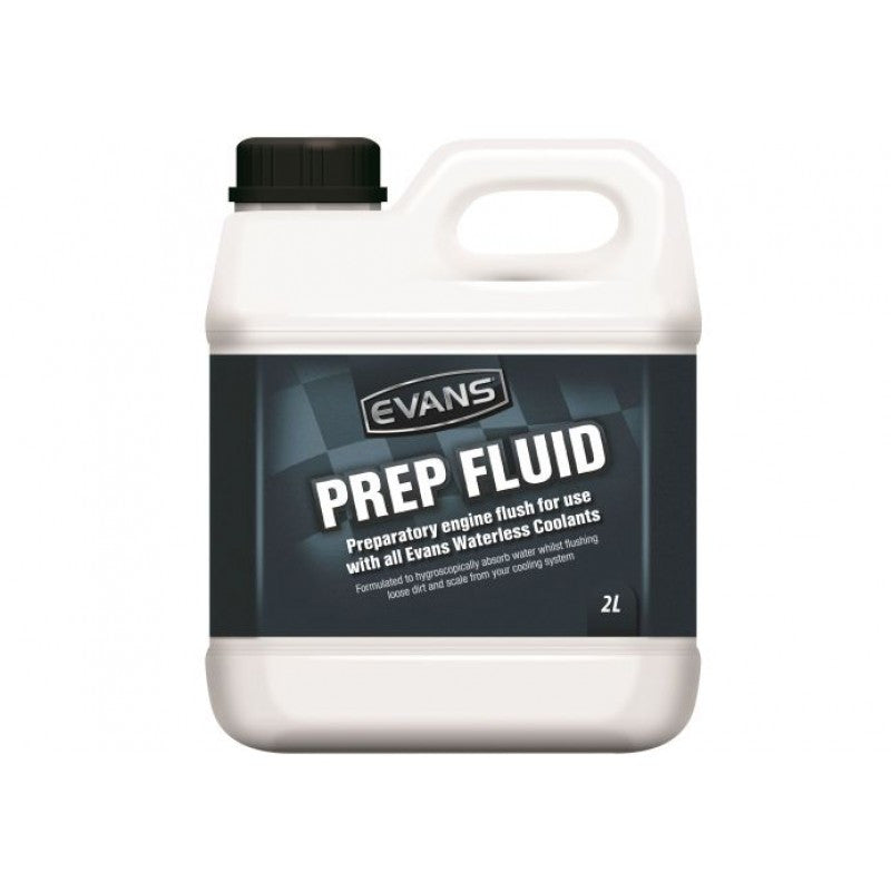 Evans Prep Fluid Hygroscopic Engine Flush 2 Litre Bottle