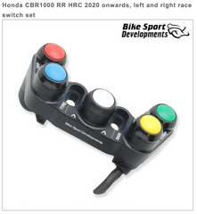 Honda CBR1000RR HRC 2020> - Left & Right Race Switch Set