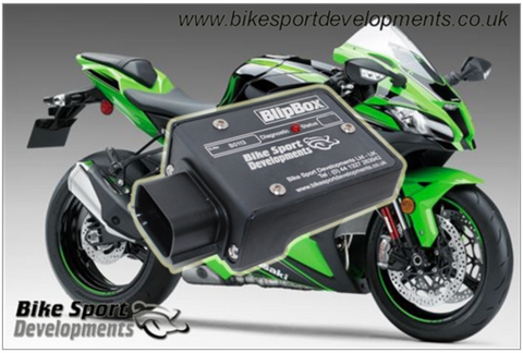 Kawasaki ZX-10R 2016> Blip Box-Pro - Autoblip downshift module