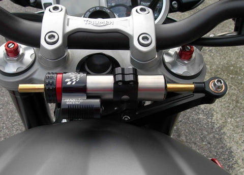 Triumph Street Triple 675/R & 765R/S/RS 2007> Matris SDR 16 Position Steering Damper Kit