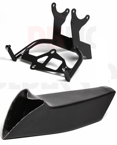 Triumph Daytona 675/R 2013-16 Race Air Scoop & Clock Bracket