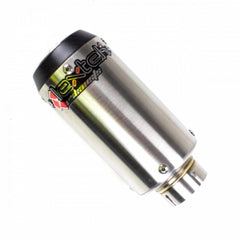 LexTek CP1 Matt Stainless Steel 150S Silencer 51mm