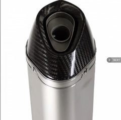 LexTek SP1 Matt Stainless Steel Hexagonal Silencer 51mm