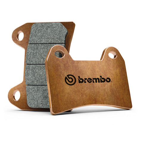 Triumph Street Triple 765R 2017> Brembo Z04 Sintered Compound Front Brake Pads for Race & Track Day Use Only
