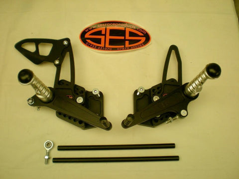 Suzuki GSX-R1000 2009-10 SES Adjustable Race Shift Rearsets