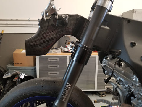 Yamaha YZF R1 2015> Carbonin Clock Bracket and Carbonin Air Inlet Tube
