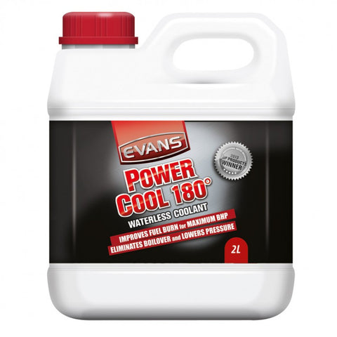 Evans Power Cool 180 Waterless Coolant for Dirtbikes, Street & ATV 2 Litre Bottle